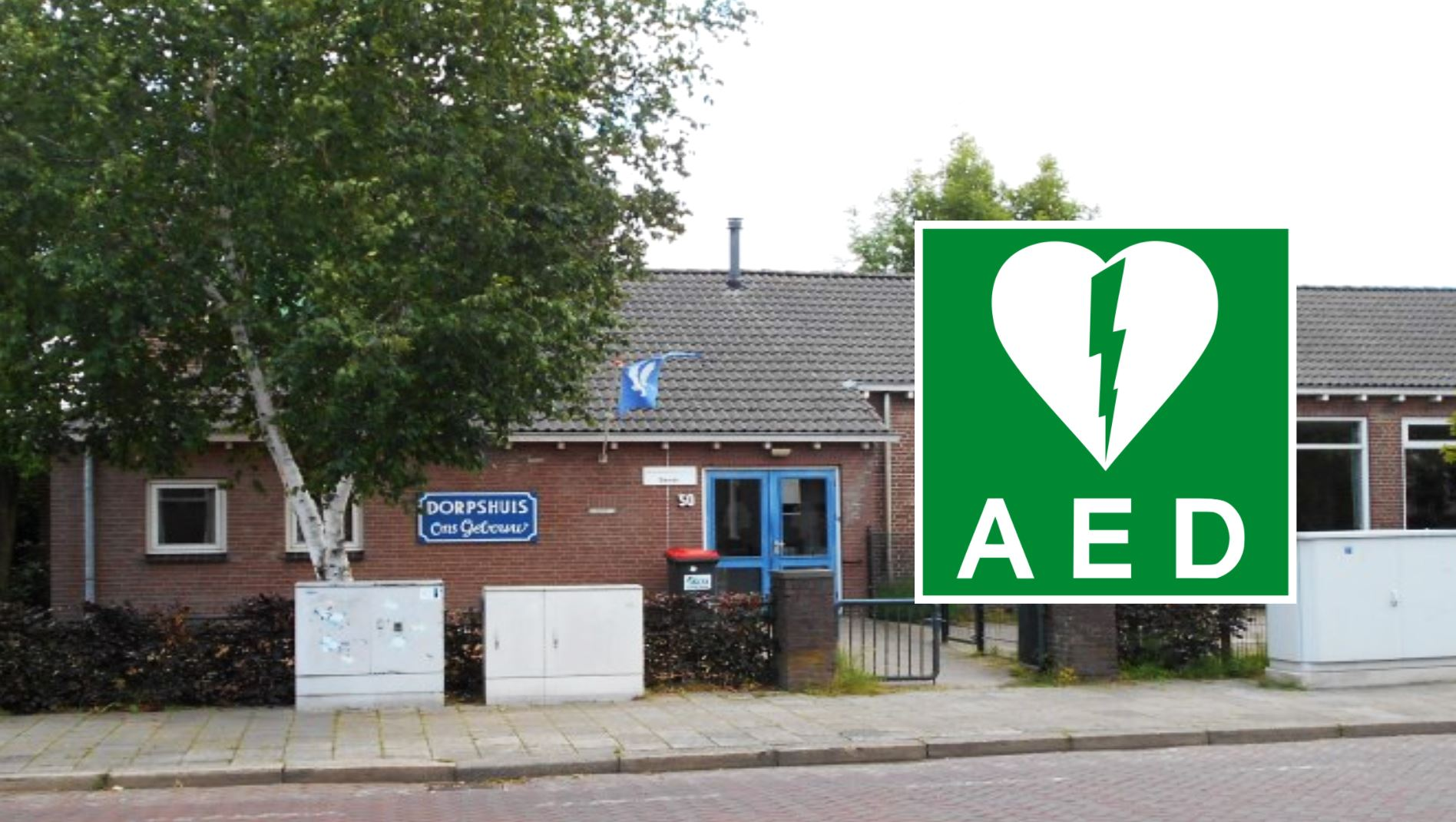 AED dorpshuis